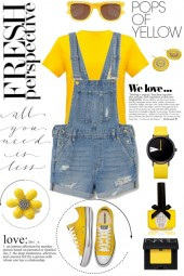 Pops of Yellow