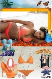 Beyonce on the Beach