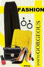 nr 47 - Yellow & Black