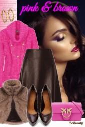 nr 457 - Pink - brown