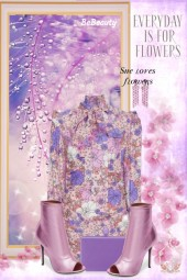 nr 489 - Floral Dress