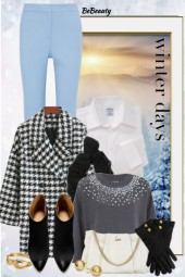nr 606 - Houndstooth Coat