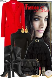 nr 789 - Black and red