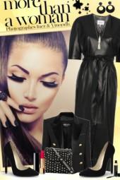 nr 825 - Lady in black