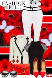 nr 937 - White-black-red