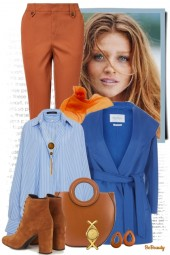 nr 971 - March in blue and brown