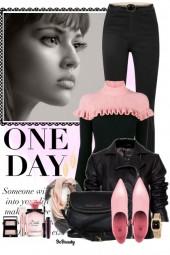nr 991 - Black & pink