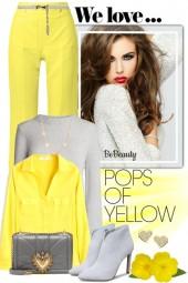 nr 1046 - Grey & yellow
