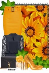 nr 1049 - Black & orange