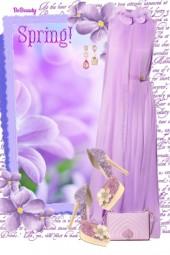 nr 1158 - Purple Spring :)