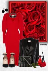 nr 1283 - Red & black
