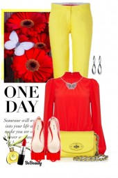 nr 1311 - Red & yellow