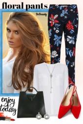 nr 1331 - Floral pants