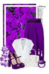 nr 1348 - White & purple
