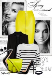 nr 1358 - A pops of yellow