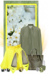 nr 1395 - Olive-yellow