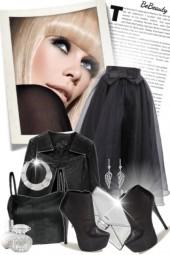 nr 1430 - Black & silver