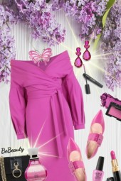 nr 1460 - Fuchsia dress