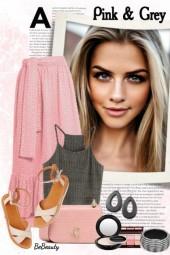 nr 1543 - Pink & grey