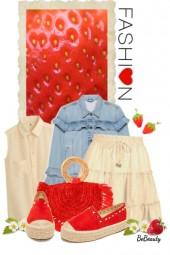 nr 1683 - Strawberry inspired