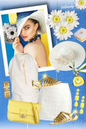nr 1691 - White-gold-yellow
