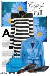 nr 1837 - Black white blue
