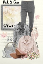 nr 1866 - Pink & grey