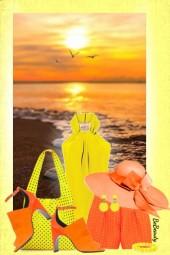 nr 1874 - Orange & yellow