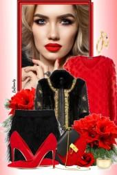 nr 1883 - Red & black