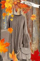 nr 2045 - Sweater dress