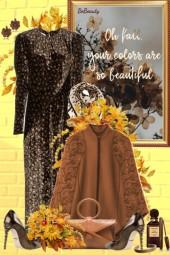 nr 2097 - Fall shades: dark & milk chocolate