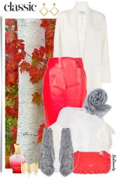 nr 2127 - White-red-grey