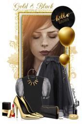 nr 2194 - Black & gold
