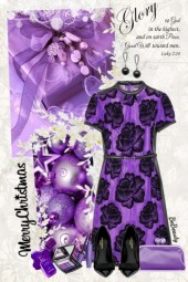 nr 2297 - Purple Christmas
