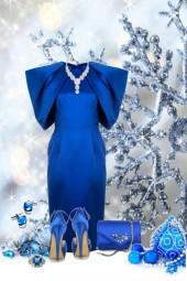 nr 2298 - Royal blue chic