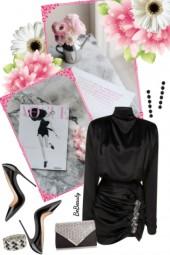 nr 2437 - Lady in black