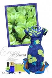 nr 2570 - Floral dress