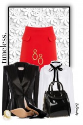 nr 2591 - White-black-red