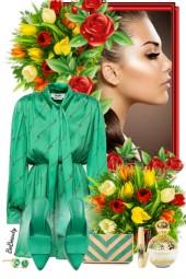 nr 2597 - Green elegance