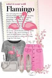 nr 2661 - Flamingo inspired