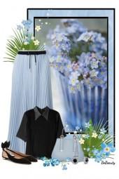nr 2685 - Pleated skirt