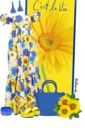 nr 2731 - Floral dress