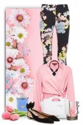 nr 2756 - Floral pants