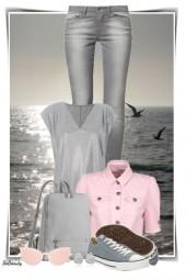 nr 2768 - Pink & grey