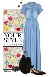 nr 2814 - Maxi dress