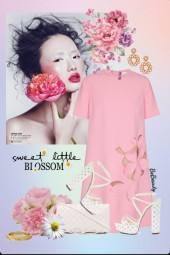 nr 2824 - Sweet pink dress