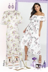 nr 2927 - Floral dress