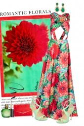 nr 3015 - Romantic florals