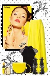 nr 3084 - Yellow & black