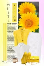 nr 3120 - White & yellow